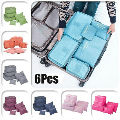 Toiletry Cosmetic Luggage Pouch Underwear Clothes Organizer Travel Storage Bag
