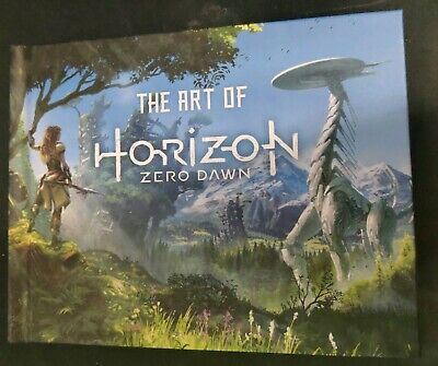 The Art of Horizon: Zero Dawn Artbook from Sony PS4 Collector's Edition