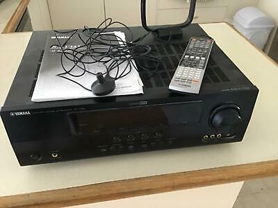 AMPLIFIER YAMAHA SURROUND SOUND SEE ADS SPLITTING SYSTEM can buy bluetooth adapt