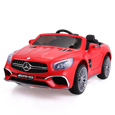 12V Kids Ride On Mercedes Benz Electric Car Licensed MP3 RC Remote Control Red