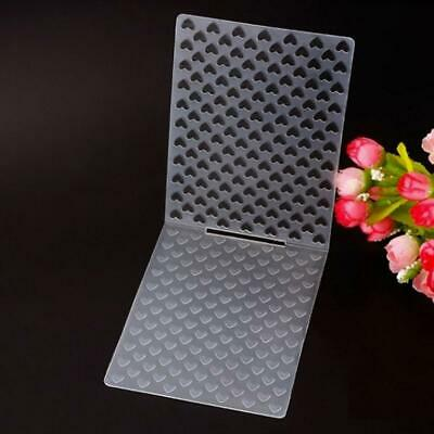 Small Dots Plastic Embossing Folders for DIY Card Making Decoration Supplies rt#