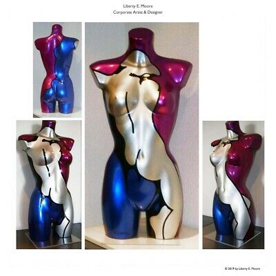 "L.E.MOORE ""Full Metallic Nude"", Pop Art, Original, limitiert ,No. 9/10"