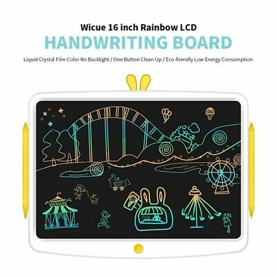 Wicue 16 inch Rainbow LCD Handwriting Board Tablet for Painting Practice Study