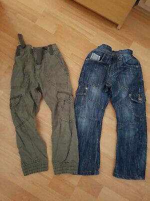 Boys Next 2 pairs of Jeans, size 5 years - VGC