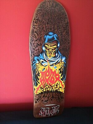 Santa Cruz Skateboard Deck Tom Knox, Fire Pit, reissue