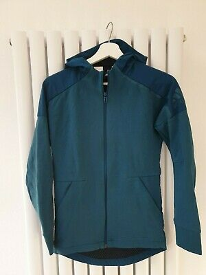 Adidas girls teal outer shell jacket uk 13-14 years