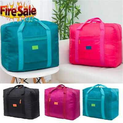 Waterpoof Portable Foldable Travel Luggage Baggage Storage Carry-On Duffle Bag