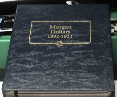 Whitman Classic Coin Morgan Dollar  Album with slides used 1892-1921