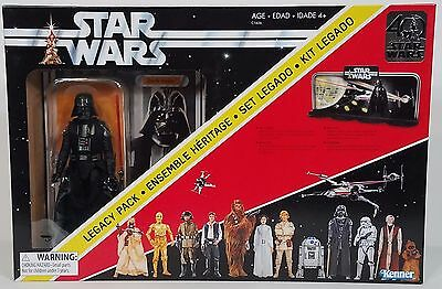 NIP Star Wars 40th Anniversary Legacy Pack Darth Vader figure w/ stand Kenner