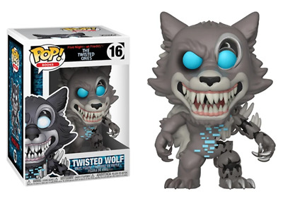 Funko Pop! Twisted Wolf (The Twisted Ones, Five Nights at Freddy's) 16 [Damaged: