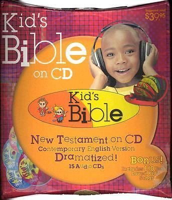 Kid's Bible (CD) New Testament (CEV) - 100 Songs and Word-for-Word Audio Bible