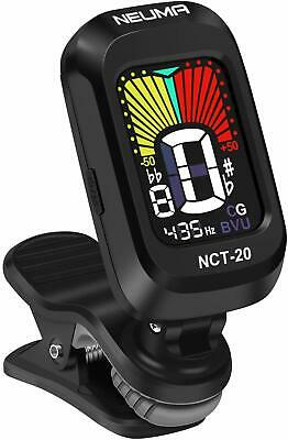Electric Digital Guitar Tuner Clip On Chromatic Acoustic Bass Violin Ukulele New
