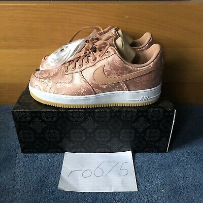 Nike Air Force 1 Low Clot Rose Gold Silk CJ5290 600