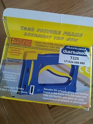 Stapler Charnwood FramersCorner Picture Framer with full box of staples