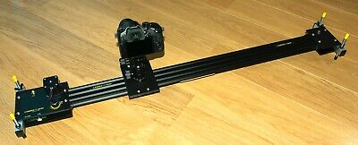 Camera slider - motorised, programmable and totally quiet with 'bounce' switches