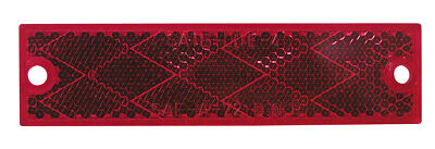 Peterson Red Compact Rectangular Reflector - B487R