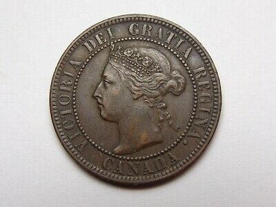 1897 Canada Victoria Bronze Large Cent Xf Super Nice! Must See!!
