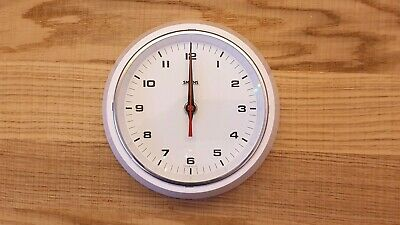 "Smiths Sectric White 6"" Delhi Electric Wall Clock"