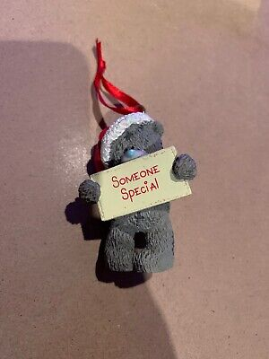 Me To You Tatty Teddy Bear Xmas Tree Hanging Decoration - Someone Special
