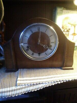 Large Westminster chime Smiths Enfield mantle clock