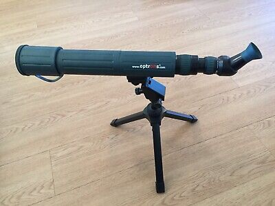 Spotting Scope. Zoom 20-60 Lens. Tripod and Waterproof Carry Case