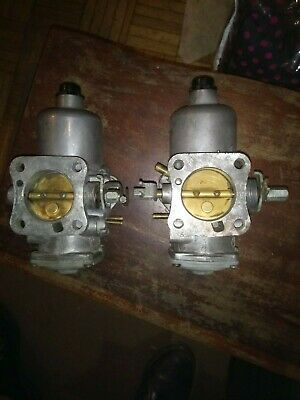 A Pair Of Su Hif7 Carburettors