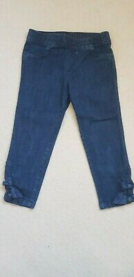 Girls cropped denim jeans next age 10