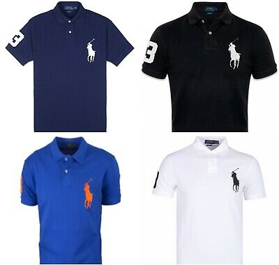 Ralph Lauren Big Pony Slim Fit Mesh Polo Shirt for Men - RRP 119£