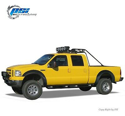 OE Style Fender Flares Fits Ford F-250, F-350 Super Duty 99-07 Textured Finish