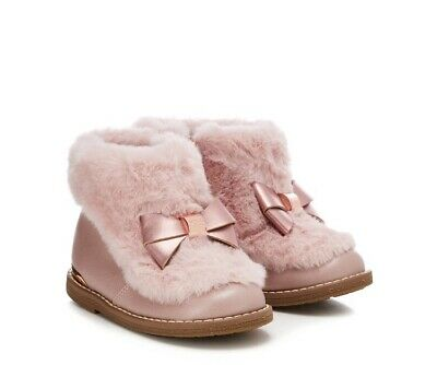 Baker by Ted Baker - Girls' pink ankle boots BNWT Size 9