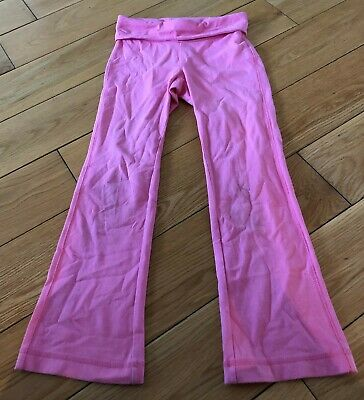 Girls Pink Gap Trousers Size 6-7 Years