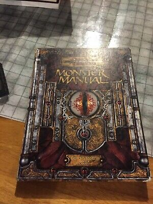 Dungeons and Dragons Monster Manual Core Rulebook 3 v. 3.5 Played Beat Copy