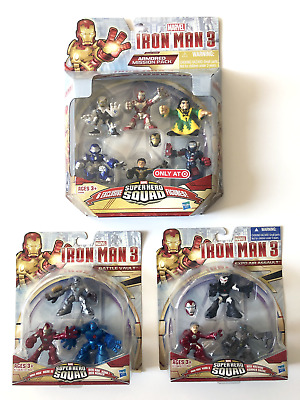 Marvel Super Hero Squad – Iron Man Armored Mission Pack *Target Exclusive + More