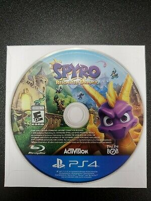 Spyro the Dragon Reignited Trilogy PS4 DISC ONLY (Sony PlayStation 4, 2018)