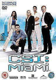 C S I Miami - Complete Series One Box Set Brand New & Sealed