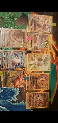 Rare Cosmic Eclipse Pokemon Card Bundle Inc. Tag Team, GX & Character Cards