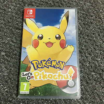 Pokemon Lets Go Pikachu! - Nintendo Switch