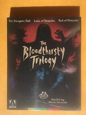 The Bloodthirsty Trilogy (Blu-ray Disc, 2018, 2-Disc Set)