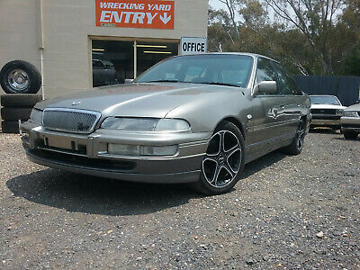 1998 series 3 VS Holden Statesman v6 sedan