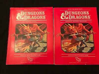 Vintage Dungeons and Dragons Dungeon Master's Rulebook SET 1983