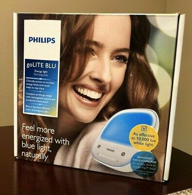 Philips GoLITE BLU Energy Light Therapy Rechargeable HF342960