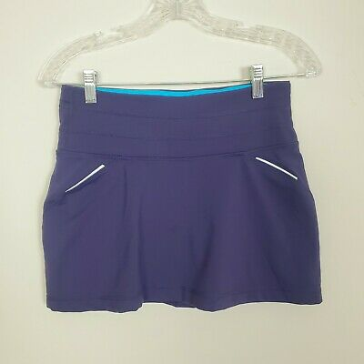 Athleta Purple Tennis Skirt with Built In Shorts Size XS