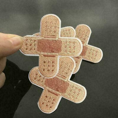 Sewing-on Badge Sticker Apparel Applique Band-aid Patch Iron-on Decor BEST D1P7