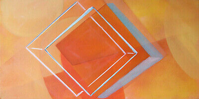Perceptual Study 25649, Original Oil on Canvas Painting by Amy Ione