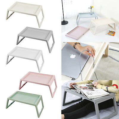 Portable Folding Laptop Desk Computer Table For Sofa Notebook Breakfast Bed Tray
