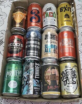 12 Mixed Australian Boutique Beer Cans
