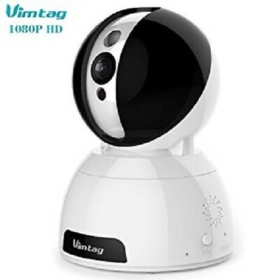 Vimtag - CP1-X - 1080p Hd Ip Security Camera WIFI Phone Tablet