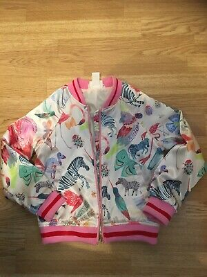 Girls H&M Bomber Jacket Age 7-8 Years EX CON