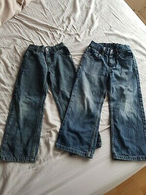 Boys Next 2 Pairs of Jeans, size 6 years - VGC