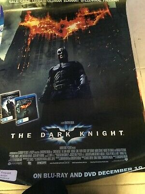 Batman  The Dark Knight Original DVD  movie poster one sheet size